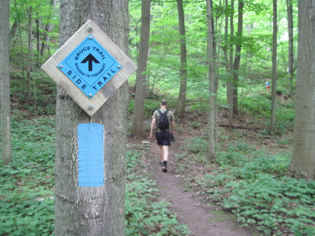 Bruce Trail Blaze blue