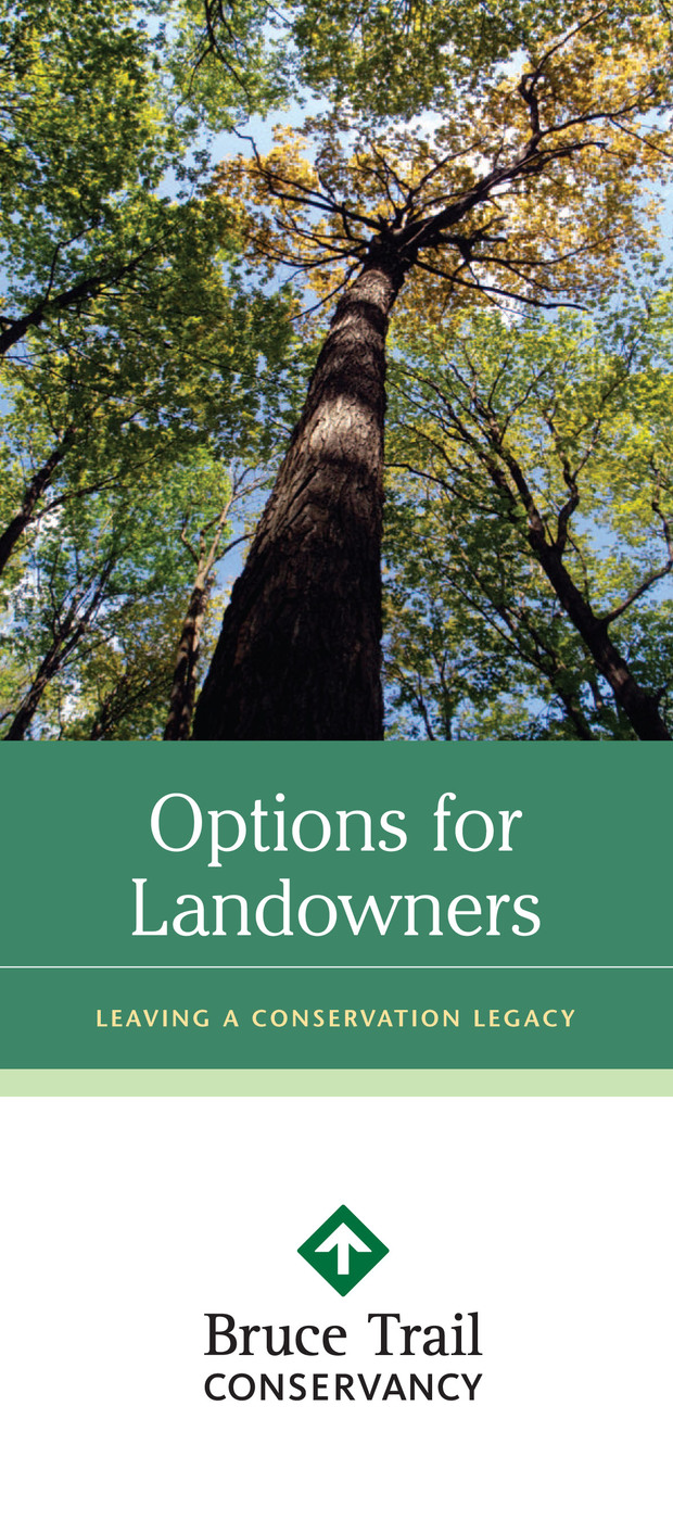 Options for Landowners brochure cover