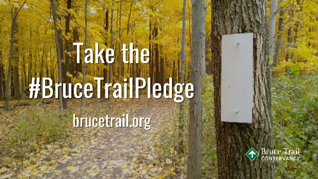 Sign up to Take the Pledge for the Bruce Trail Conservancy