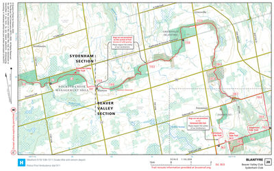 Bruce trail reference ed30 sample map